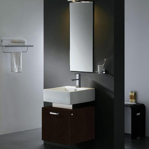 "18"" Modern Wall Mount Vanity From Vigo Industries"
