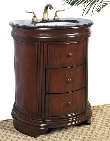 "28"" Simplified Traditional Bathroom Vanity From Legion Furniture"