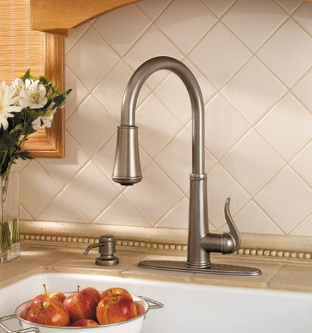 Ashfield Single Handle Kitchen Faucet From Pfister