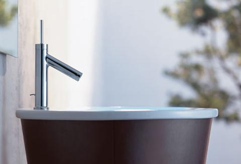 Axor Starck Single Hole Bathroom Faucet From Hansgrohe