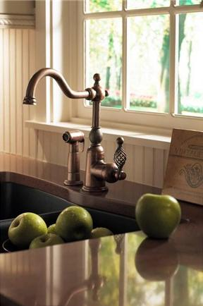 Bordeux Kitchen Faucet In Antique Copper From Danze