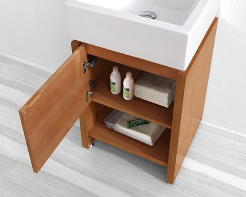 Petite Bathroom Vanity petite open shelf bathroom vanities for a small bathroom