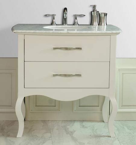 simplified antique bathroom vanities for a contemporary bathroom
