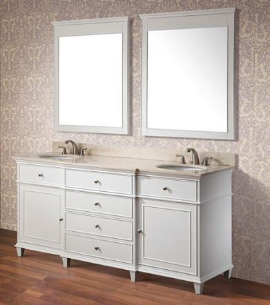 Even a Simple Coat Of White Paint Can Make Almost Any Bathroom Vanity Or Cabinet Look Like Brand New