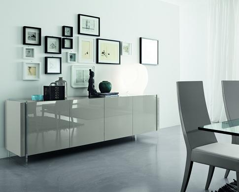 Fly Grey Dining Buffet From Rossetto