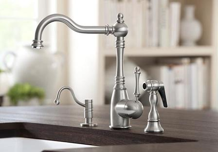 Grace Satin Nickel Faucet From Blanco