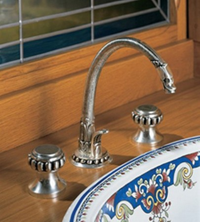 Pompadour Double Handle Bathroom Faucet From Herbeau