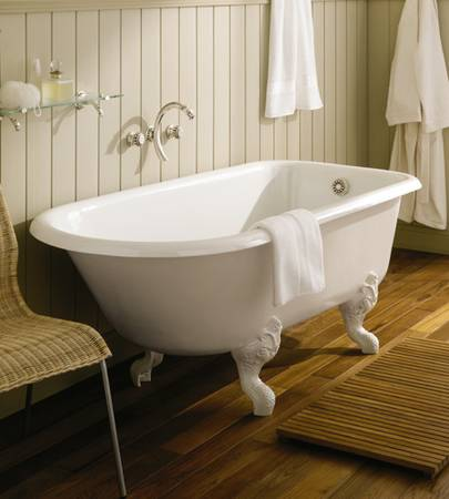 Retro Cast Iron Charleston Clawfoot Soaking Tub From Herbeau