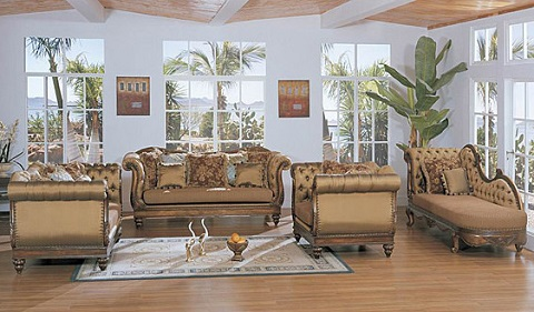 Brunswick Antique Replica Sofa Set From AFD