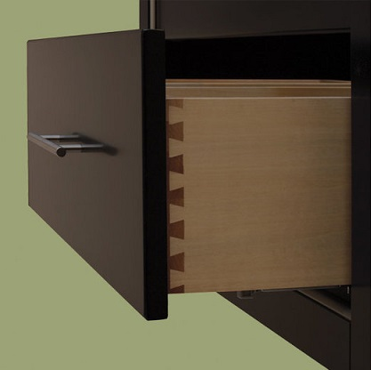 "Richview 30"" Bathroom Vanity With Dovetail Joining And Detachible Legs From Sagehill Designs"