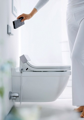 Starck 3 Sensowash Heated Toilet Seat From Duravit