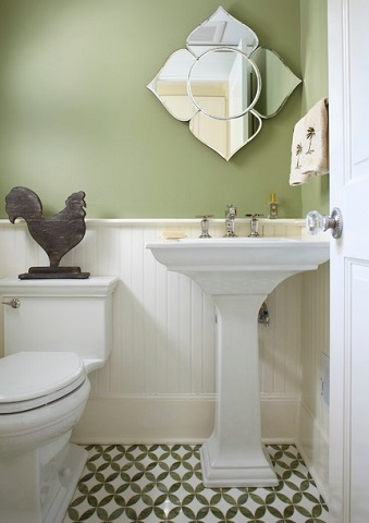 Superieur Because Pedestal Sinks Curve Inwards, They Can Be Placed Closer To A Toilet  Without Crowding