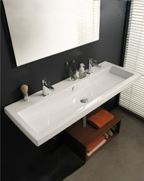 Bathroom Sinks Trough Style six problems that can be solved with the right bathroom sink