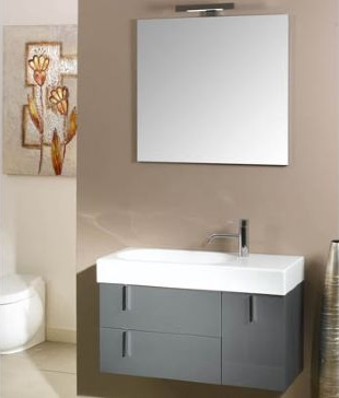 "34.9"" Bathroom Vanity Iotti NE3 from Enjoy Collection"