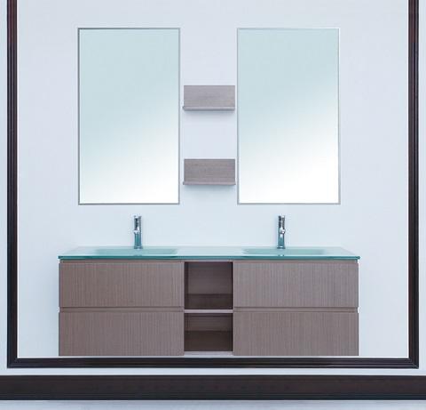 """Avaya 60"""" Double Sink Vanity From Stufurhome"""