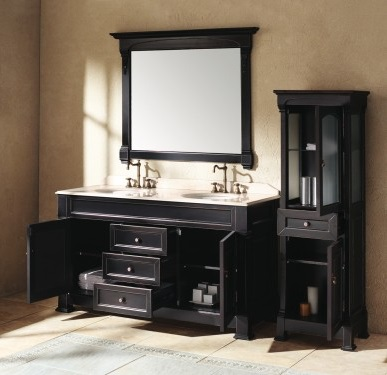 Soft closing doors and drawers are becoming standard on many of James Martin Furniture's bathroom vanities