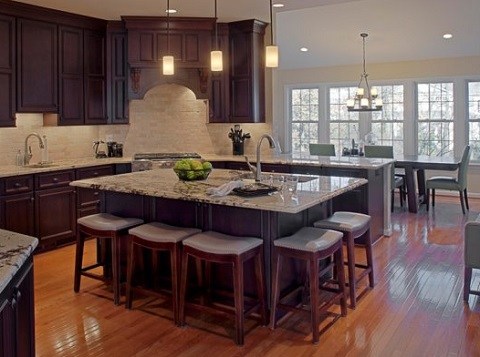Designing A Kitchen Island With Lip Not Only Adds Surface E For Dining But