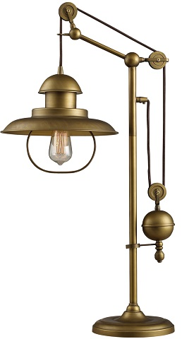 Farmhouse Table Lamp In Antique Bronze D2252 From Dimond Lighting