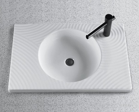 Ryohan LT987G Drop In Bathroom Sink From Toto