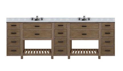 "Toby 96"" Modular Double Bathroom Vanity TB9621D3 From Sagehill Designs"