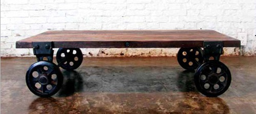 V33 Coffeecart In Reclaimed Wood HGDA119 From Nuevo Living
