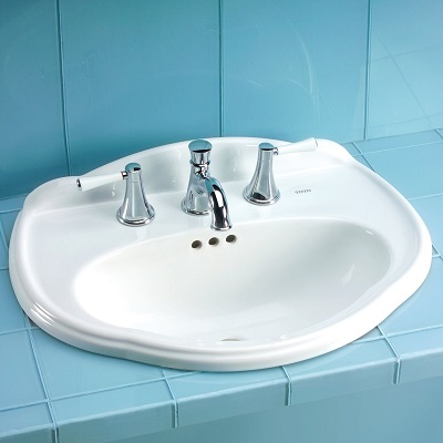 Whitney LT753 Drop In Sink From Toto
