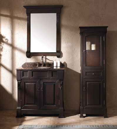 brookfield 35 single bathroom vanity with cabinet 147 114 5561 from james martin