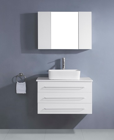 "Ivy 32"" Single Bathroom Vanity From Virtu USA"