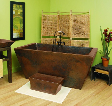 A Quick Introduction To Freestanding Copper Bathtubs