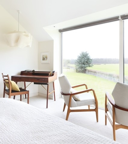 white modern chair mid century modern chairs meet a scandinavian modern decor