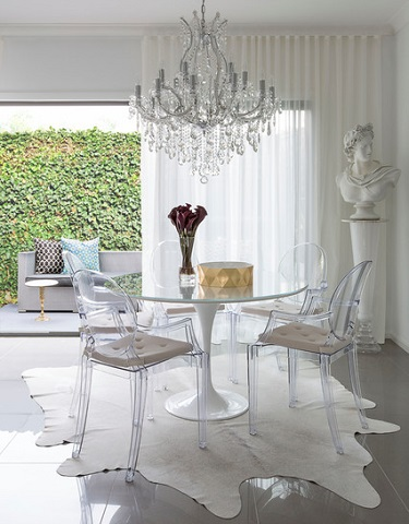 Transparent Chairs Are A Natural Fit With A Sleek, Chic, High End Modern  Design