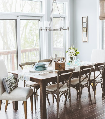 Mix-And-Match Dining Chairs For A Casual Kitchen Or Dining Room