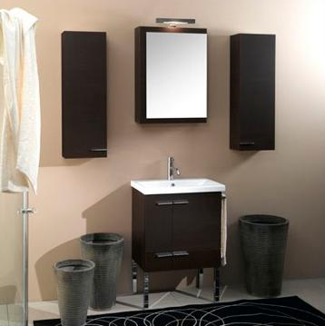 "22.5"" NS3 Simple Vanity With Storage Cabinets From Iotti"