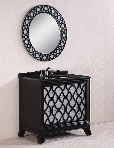 Legion Furniture 38 Solid Wood Bathroom Vanity Wh2838