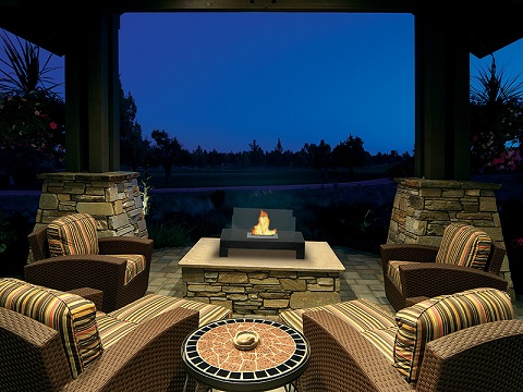 Gramercy Indoor Outdoor Fireplace 90296 from Anywhere Fireplace
