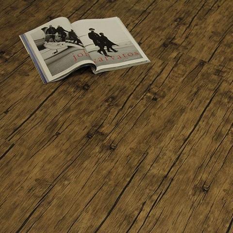 Antique Walnut Luxury Vinyl Plank Flooring 3228AW from Ferma