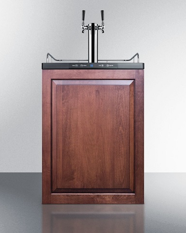 Summit Full Size Beer Dispenser SBC635MBIIFTWIN