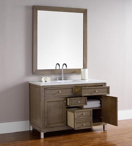 "Chicago 48"" Single Bathroom Vanity 305-v48-www from James Martin Furniture"