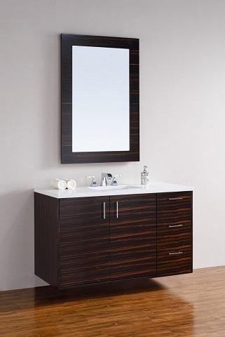 "Metropolitain 48"" Single Bathroom Vanity 850-v48-meb from James Martin Furniture"
