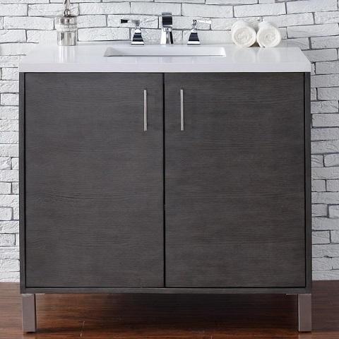 """Metropolitan 36"""" Single Bathroom Vanity 850-v36-sok from James Martin Furniture"""