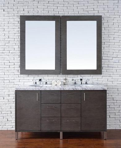 "Metropolitan 60"" Double Bathroom Vanity 850-v60d-sok from James Martin Furniture"