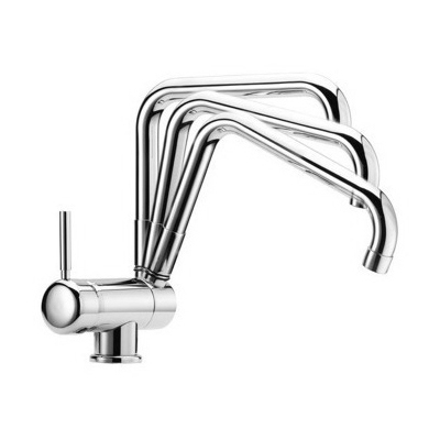 Kitchen Sink Faucet, S7009 CR by Fima Carlo Frattini