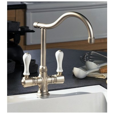 Double Handle Kitchen Faucet, 4202 by Herbeau