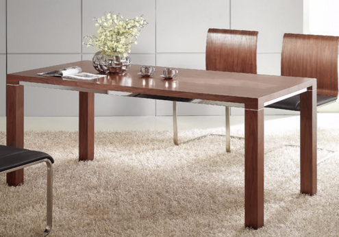 Baron Dining Table, DT1012-WLT by Whiteline Imports