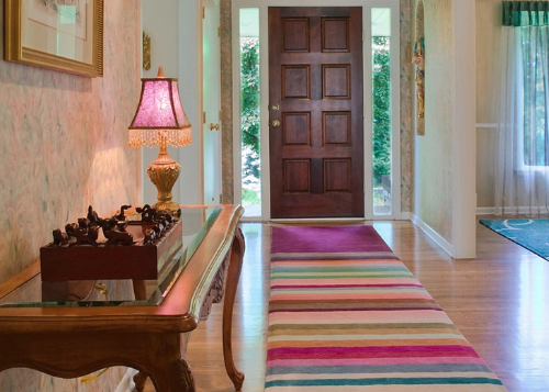 Are rugs by no means have to be simple or demure (by Julie Dasher Rugs)