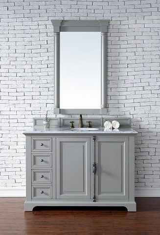"Providence 48"" Single Bathroom Vanity Cabinet in Urban Gray 238-105-V48-UGR from James Martin Furniture"