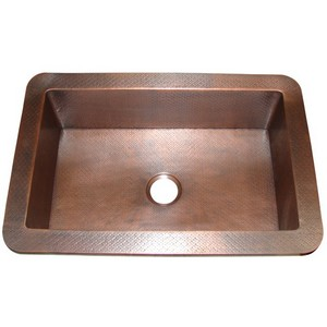 Farm Sink in Antique Copper