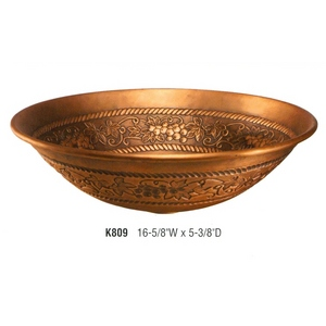 The Grape Vine Copper Sink from Artisan