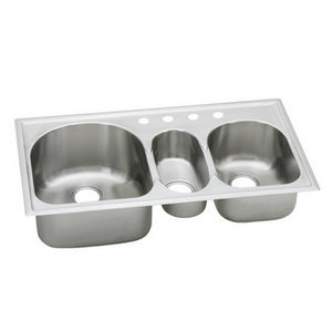 Elkay Triple Basin Sink - 18 Gauge