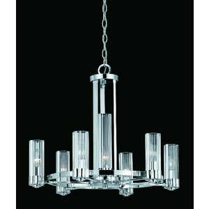 The Glacier Glass Chandelier from Triarch